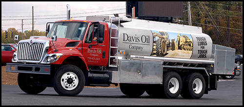 For more than 35 years Davis Oil has been the choice for fuel and lubricants.